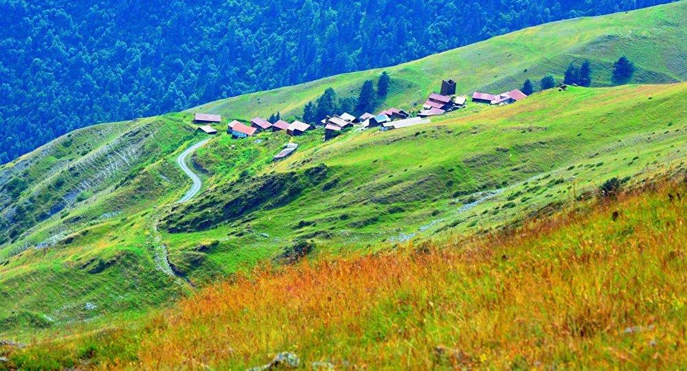 თუშეთის სოფელი