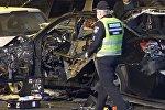 Взрыв автомобиля в центре Киева