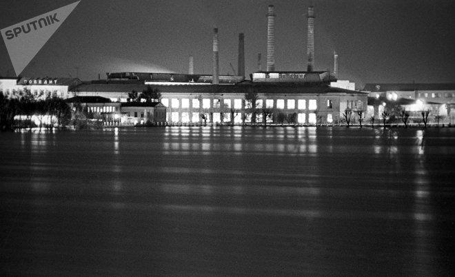 Вид на Гусевский хрустальный завод