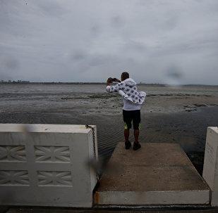Последствия урагана Ирма снятые на видео очевидцами