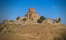 Древний храм Джвари. Достопримечательности Грузии