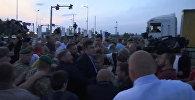 Прорыв Саакашвили через польско-украинскую границу