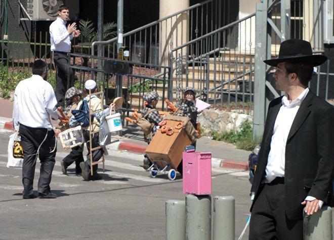 ებრაელები ბავშვობიდან ეჩვევიან შრომას