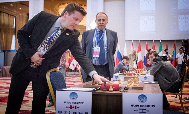 Гроссмейстеру Антону Ковалеву засчитывают поражение