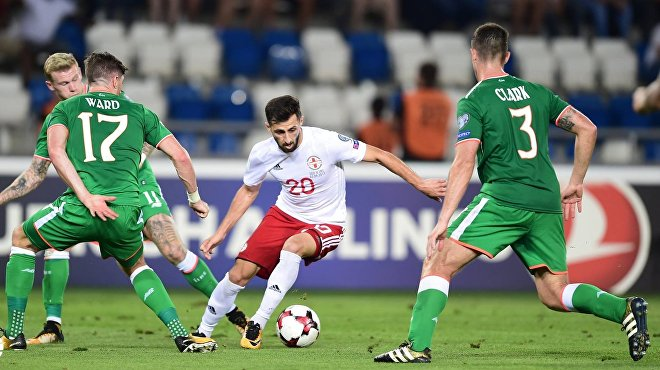 Грузинский футболист Джаба Джигаури