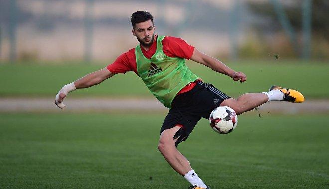 Грузинский футболист Давид Хочолава