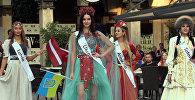 Участники Miss and Mister Planet в Батуми показали национальные наряды