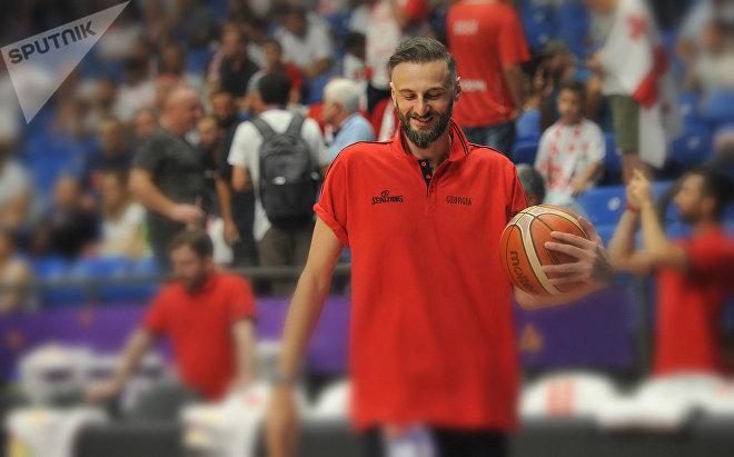 Баскетболист Виктор Саникидзе