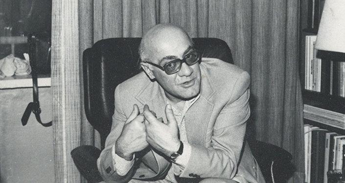 Философ Мераб Мамардашвили