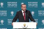 Выступление Эрдогана перед мэрами турецких городов
