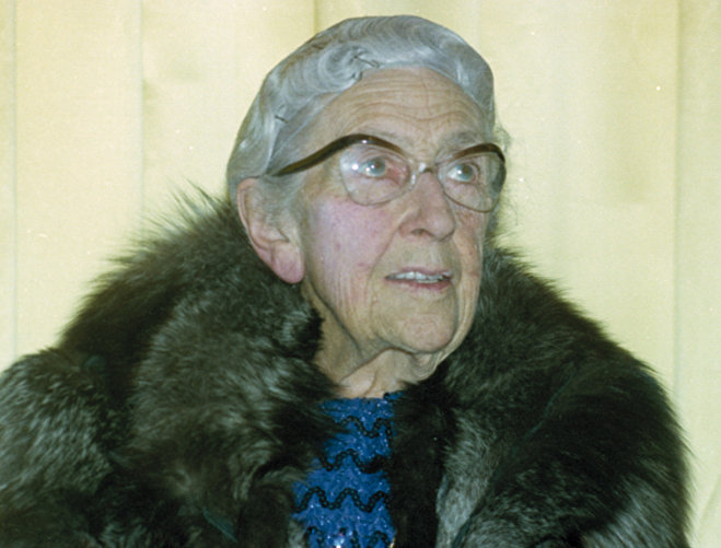 Фотография легендарной писательницы Агаты Кристи, снятая у нее дома в 1974 году