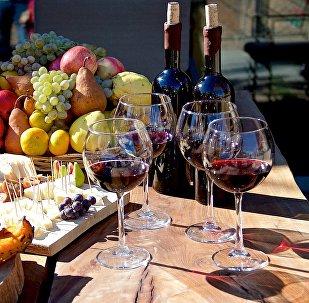 Грузинское вино - на празднике Тбилисоба