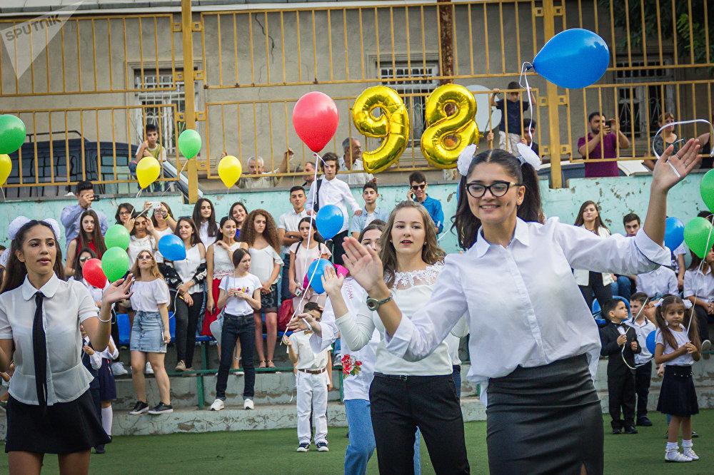 სასწავლო წლის დაწყება თბილისის 98-ე საშუალო სკოლაშო
