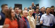 Бывший заместитель генпрокурора Украины Давид Сакварелидзе в зале суда