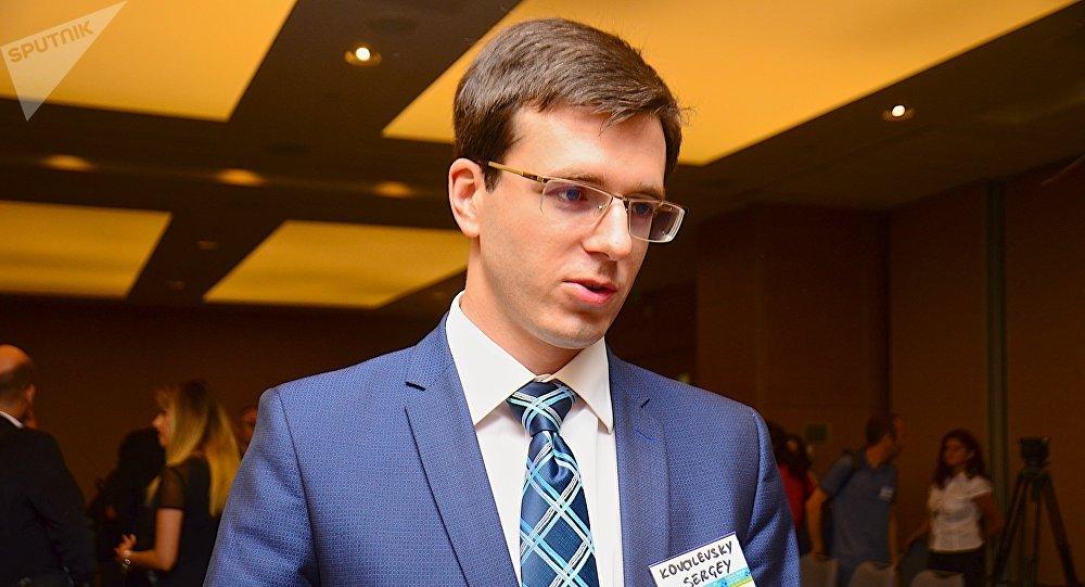 Сотрудник МИД РФ Сергей Ковалевский