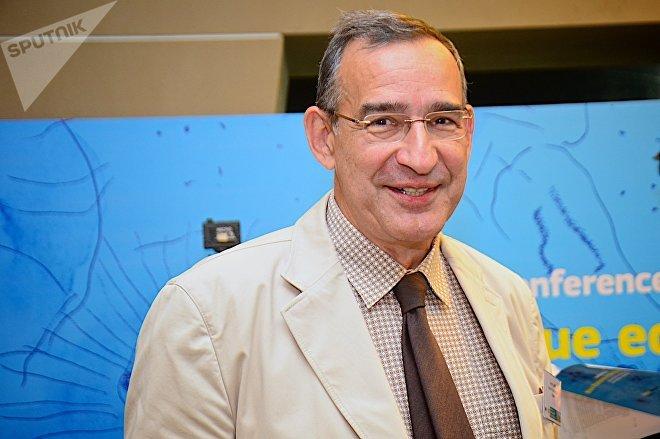 Представитель российской делегации Андрей Лаппо