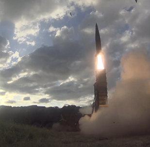 Кадры пуска ракет Хенму-2 в ответ на ракетные испытания КНДР