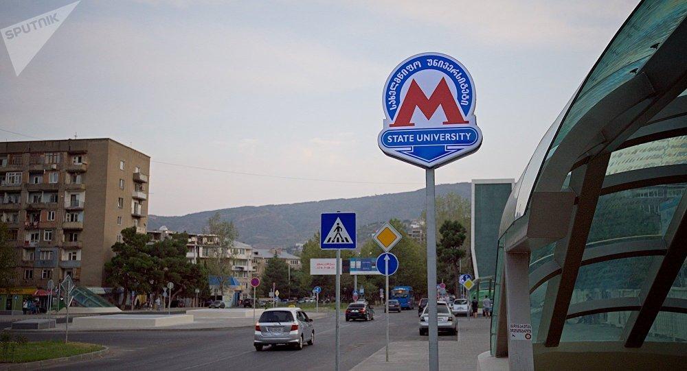 Испанцы построили вТбилиси новейшую станцию метро