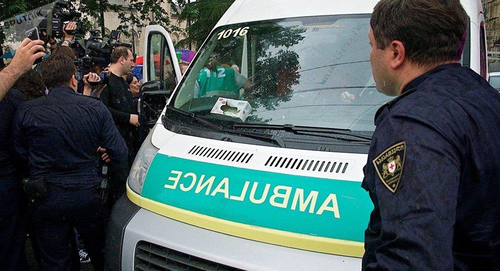 """საპატრულო პოლიცია და """"სასწრაფო დახმარების"""" ბრიგადა"""
