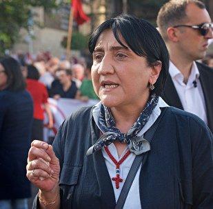 Лидер Альянса патриотов Ирма Инашвили