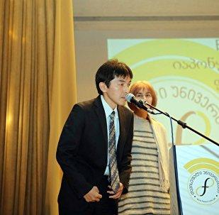 Атташе посольства Японии в Грузии Ясухиро Коджима