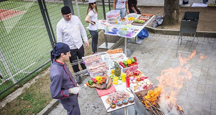 Фестиваль шашлыков в Саирме