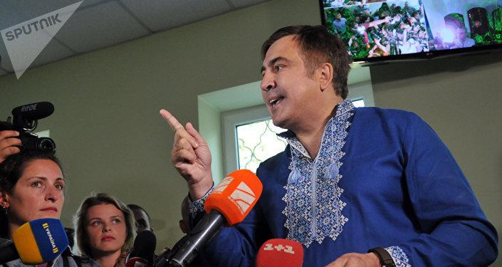 42 сторонникам Саакашвили запрещен заезд вгосударство Украину