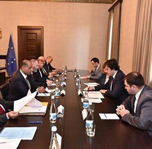 Заседание парламентского комитета ассоциации Евросоюз - Грузия