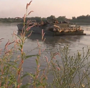 Подразделения сирийской армии форсировали западный берег реки Евфрат