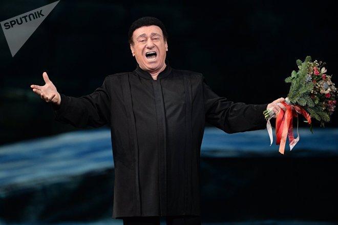 Оперный певец Зураб Соткилава на гала-концерте Браво, Елена в Государственном академическом Большом театре в Москве