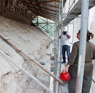 Реставрационно-консервационные работы в монастыре Пархали в Турции