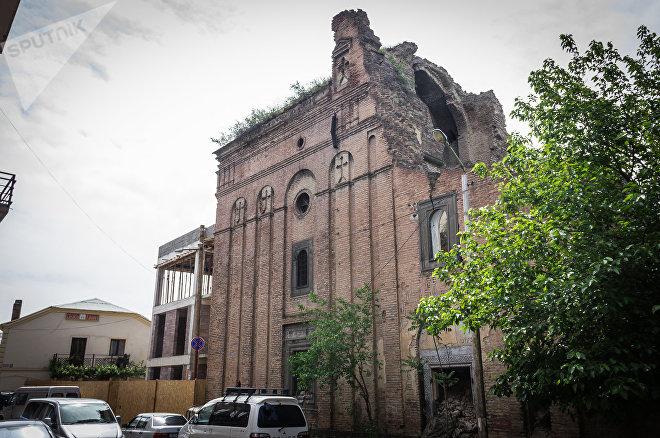 Церковь  Шамхорская (Церковь Пресвятой Богородицы)