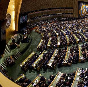 LIVE: Трансляция Генассамблеи ООН в Нью-Йорке. День второй
