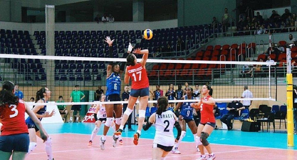 Азербайджанские волейболистки взяли реванш убелорусок втоварищеском матче встолице Азербайджана