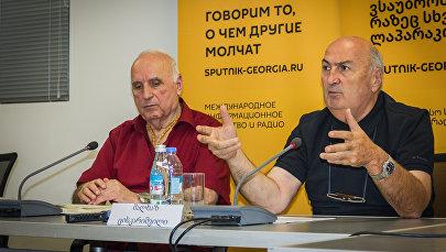 Круглый стол - Программа развития Тбилиси