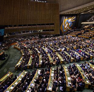 LIVE: Трансляция 72-й сессии Генассамблея ООН в Нью-Йорке. День третий