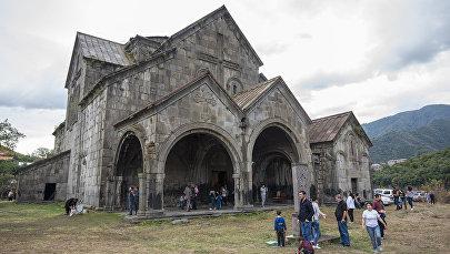 Храм Святой Богородицы в Ахтале, Лорийская область Армении
