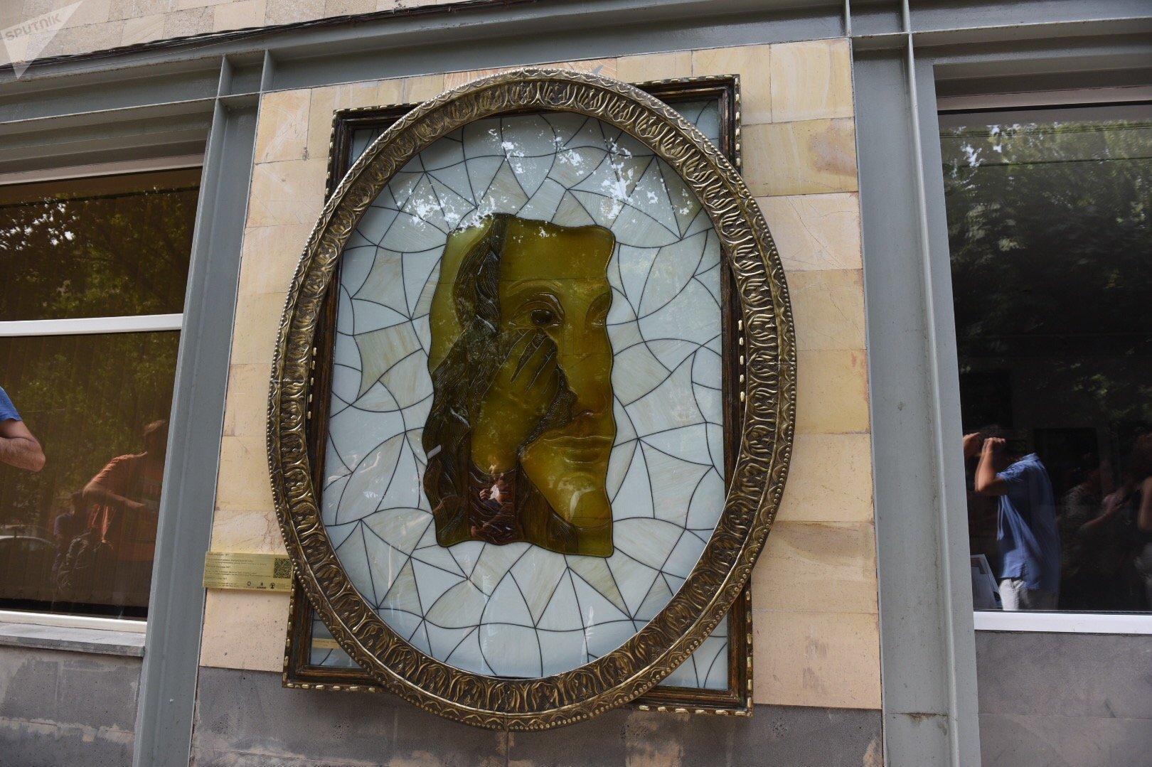Инсталляция произведения Параджанова