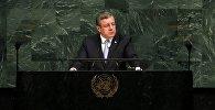 Георгий Квирикашвили на ГА ООН