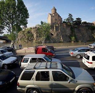 საცობები თბილისში