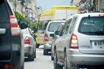 Пробки на дорогах в час пик