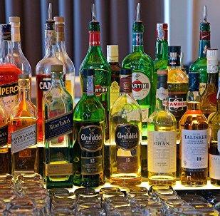 Виски в одном из баров столицы Грузии