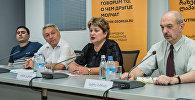 პრესკონფერენცია ქართულ–რუსული ურთიერთობების საკითხებზე
