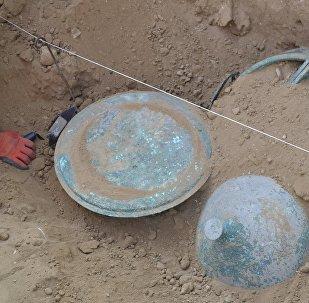 დავითგარეჯაში აღმოჩენილი სამონასტრო ჭურჭელი