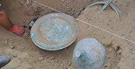 Монастырская посуда, найденная при раскопках в Давид Гареджи