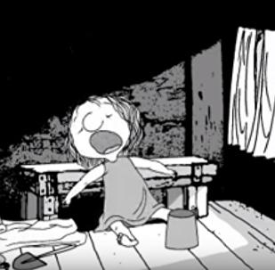Кадр из мультфильма Ветер вдоль берега