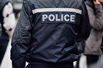 Сотрудник грузинской полиции