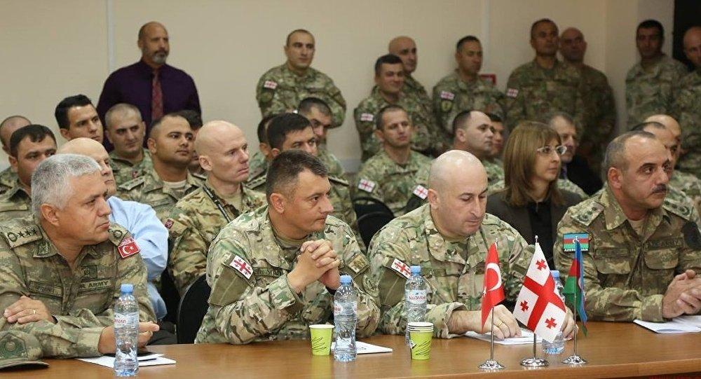 ВГрузии начались военные учения поохране энергопроектов