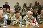 Военнослужащие Турции, Азербайджана и Грузии