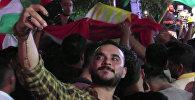 Как курды отметили референдум в Эрбиле
